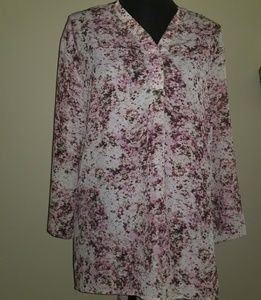 Philosophy floral tunic